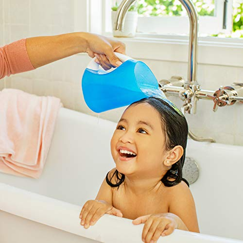 41IHvdA8bNL - Munchkin Rinse Shampoo Rinser, Blue, Pack Of 1