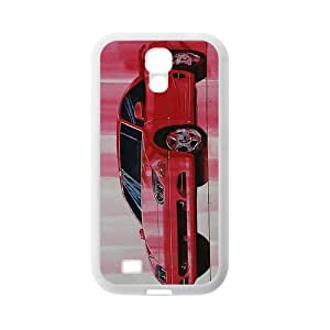Custom Red Sports Car Cool Samsung Galaxy S4 I9500 TPU Case Cover phone Cases Covers