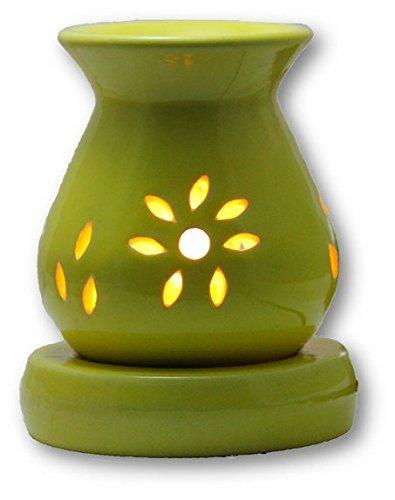 home tadka electric aroma oil ceramic yellow diffuser essential