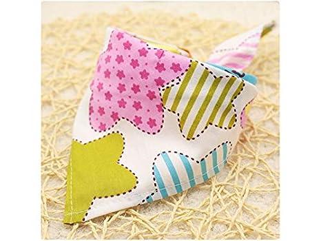 Encantador Toallas de Saliva bebé Creativas para bebés Baberos de Drool para niños (patrón de