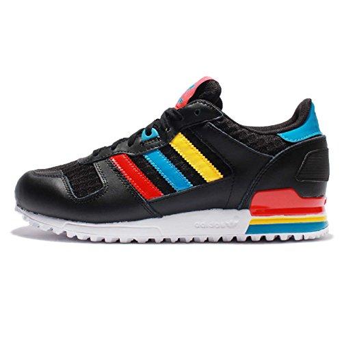 Adidas Vrouwen Zx 700 W, Kern Zwart / Levendig Rood / Blauwe Kern Zwart / Levendig Rood / Blauw