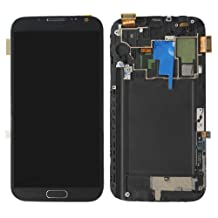 Generic Full Set Digitizer LCD With Touch Screen And Middle Plate For Samsung Galaxy Note 2 N7105 OEM - Grey