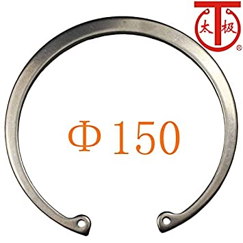 Ochoos Inner Diameter: 150-420 - 2Cr13 RTW 150 DIN472 Internal Retaining Ring Internal circlips RTW