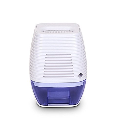 Fitiger 300ML Compact Dehumidifier Portable Electric Mini Dehumidifier for Damp, Mould, Moisture in Home, Kitchen, Bedroom, Caravan, Office, Garage