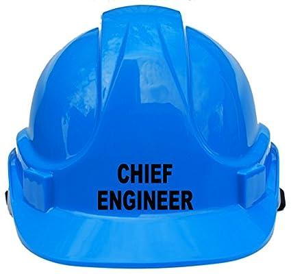 Ingeniero Jefe niños, niños original casco de protección casco de seguridad talla única con correa