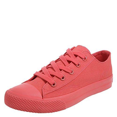 Airwalk Frauen Legacee Sneaker Mono Coral Leinwand
