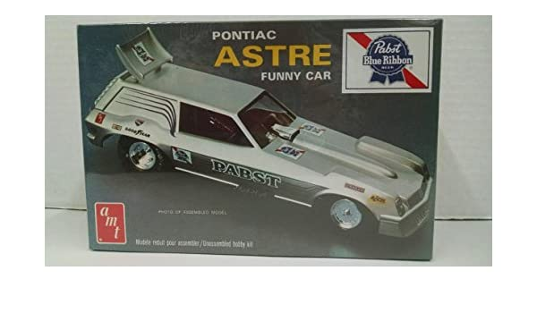 Amazon.com: AMT #2804 1974 Pontiac Astre Funny Car Pabst Blue Ribbon VERY RARE 1:25 Scale Plastic Model Kit NEEDS ASSEMBLY: Toys & Games