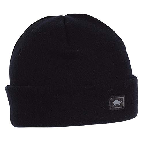 Turtle Fur Original Fleece The Hat Heavyweight Beanie Watch Cap, Black