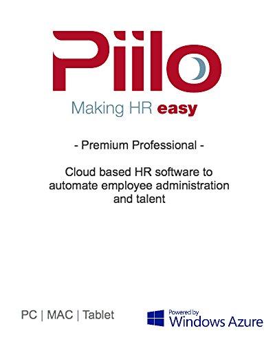 Piilo HR Premium Professional 50 [Online Code] by Piilo HR Software