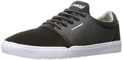 DVS - Zapatillas de Skateboarding Para Hombre Negro Black Woven