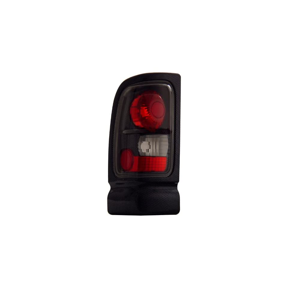 Anzo USA 211047 Dodge Ram Carbon Tail Light Assembly   (Sold in Pairs)