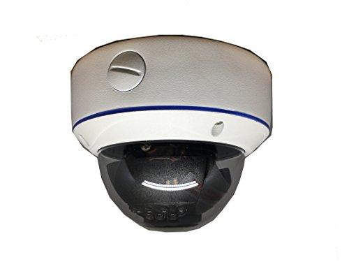 101AV 1080P True Full-HD 4in1 (TVI, AHD, CVI, CVBS) 2.8-12mm Varifocal Lens IR In/Outdoor Dome Camera 2.1 MP 1920x1080 Image Sensor 18 pcs Smart IR 100ft IR Range DWDR UTC -