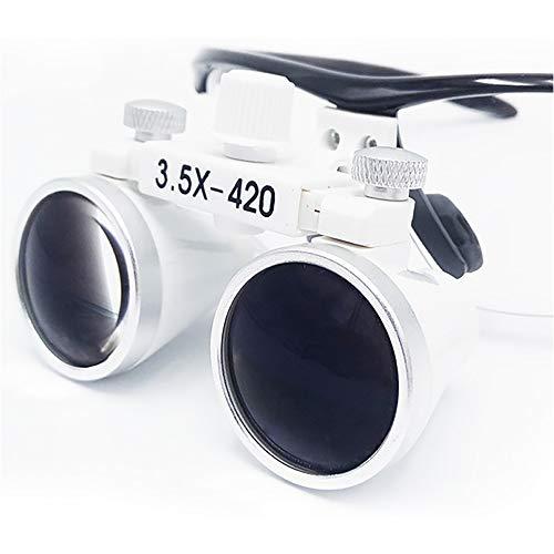 Black Frame Dental Glasses Type 3.5 - Fold Anti-Fogging Medical Magnifier