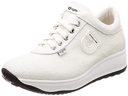 Sneakers By 38 Donna Tg Bianco Gelso Rucoline Agile A Star 1315 qEUAR77