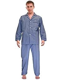Classical Sleepwear Men's Broadcloth Woven Pajama Set