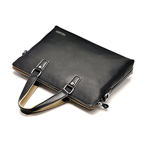 Black Messenger Handbags Briefcases Business Men's Computer Bags Shoulder EwfCzqnPq