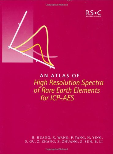 An Atlas of High Resolution Spectra of Rare Earth Elements for ICP-AES: RSC