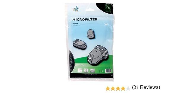 Universal Micro filtro para aspiradora se puede cortar: Amazon.es: Hogar