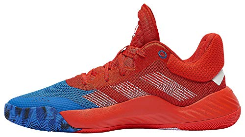 adidas Men's D.O.N. Issue #1 Basketball Shoe, Blue/Red/White, 9 Medium US