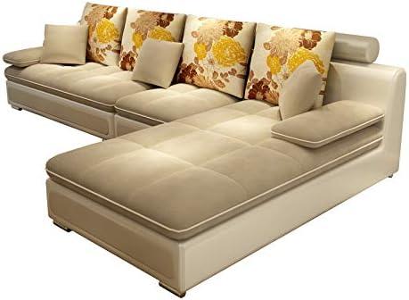 Genrics Fabric Sofa Small Apartment Living Room Assembly