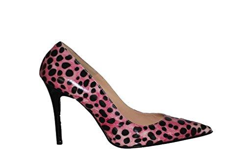 Hohe Pumps Decollete aus Leder Damen RIPA shoes - 55-2000