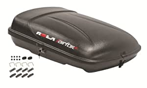 ROLA 59004 Airfoil LG Black Roof Top Cargo Box