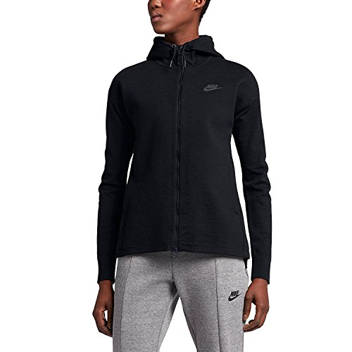 NIKE Sportswear Tech Knit Women's Jacket (Small, Black)
