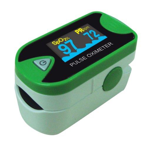 Choicemmed fingerspitze puls oximeter mit zweifarbige oled - displays