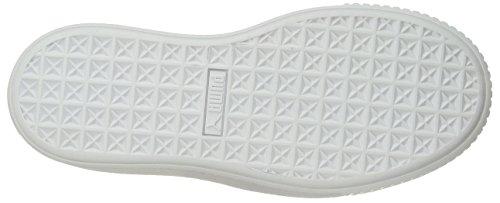 puma puma Donne Bianco Wn Puma Cestino Bianco Oceano Piattaforma Silver Delle Puma Sneaker z17gnqqx