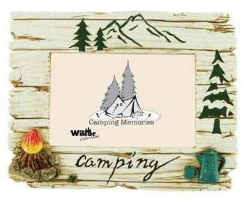 (Camping Theme Photo Frame, 4x6 (Raised)