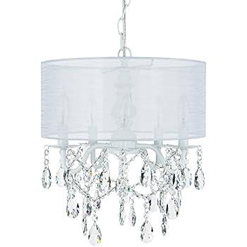 Amazon.com: Drum Araña de sombra vidrio Lámpara de techo ...
