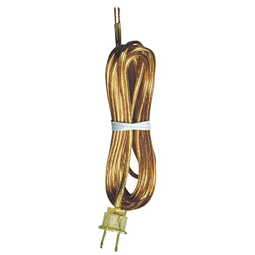 - Westinghouse Lighting Corp 70103 15-Feet Gold Cord Set
