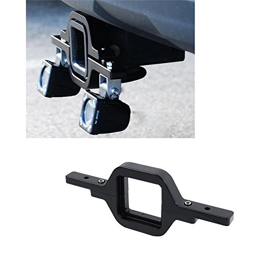 AUXMART Tow Hitch Mounting Brackets for LED Backup Reverse Lights Rear Search Lighting Off-Road Work Lamps by AUXMART