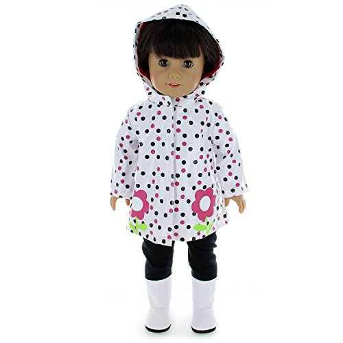 Doll Clothes Rain Coat Outfit with Shoes and - Clothing & Accessories