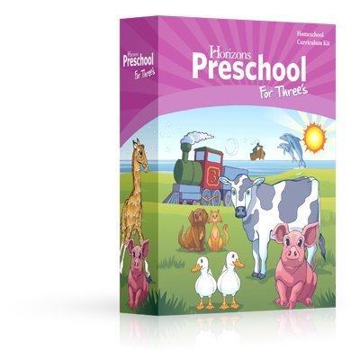 Horizons Preschool for Three's (3) Curriculum Set AOP (Alpha Omega), PRESCHOOL, PRE K KINDERGARTEN HOMESCHOOLING CURRICULUM SET (Christian Preschool Curriculum For 3 Year Olds)