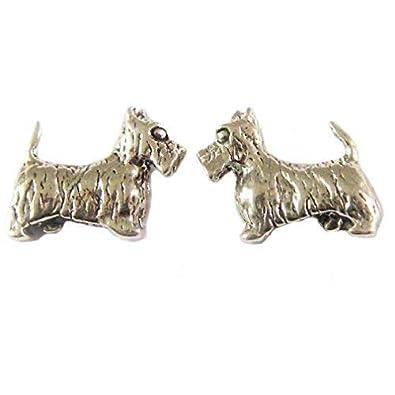 UK West Highland White Terrier Pet in your ear Earrings.Photojewelry.Handmade
