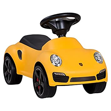 Porache 911 Turbo S Bobbycar correpasillos uguard coche con licencia para coche bebé, New
