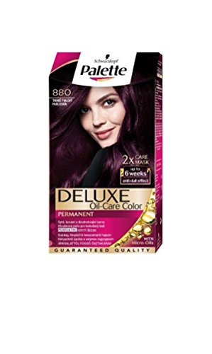 Palette Deluxe 880 Attractive Aubergine Permanent Hair (Hair Color Palette)