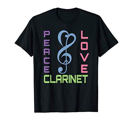 Clarinet Player T-shirt Music Band Camp Clarinetist Gift