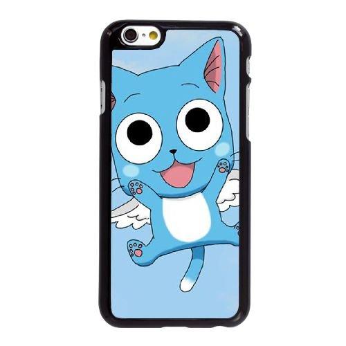 G4Z62 Fairy Tail E8S5DD coque iPhone 6 Plus de 5,5 pouces cas de couverture de téléphone portable coque noire KN4Kcoque LG3TQ