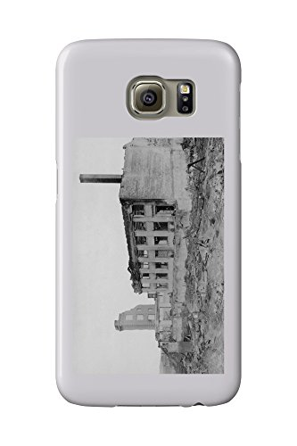 Astoria  Oregon Fire View Of Astoria Natl  Bank Photograph  Galaxy S6 Cell Phone Case  Slim Barely There