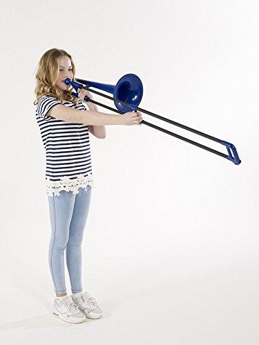 Large Product Image of pBone PBONE1B Jiggs Plastic Trombone, Blue