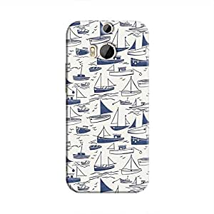 Cover It Up - Harbour Print One M8Hard Case