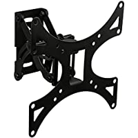 Mount-It! MI-4601 Single Stud Wall Mount for Samsung, Sony, LG, Sharp, Insignia, Vizio, Haier, Toshiba, Sharp, Element, TCL, Westinghouse 23, 24, 27, 30, 32, 40, 42 Inch, Plasma, LCD, LED, TV Monitors, VESA 75x75 to 200x200