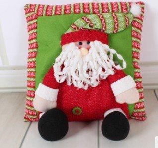 Amazon.com: Papá Noel patrón almohada cojín decoración de ...