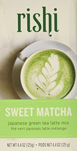 Rishi Sweet Matcha Tea, Japanese Green Tea Powder, 4.4 Oz