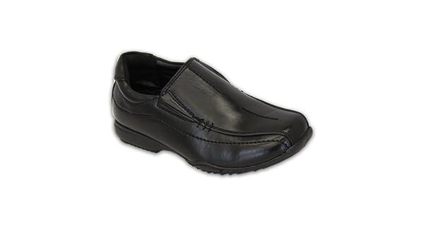 38901581 Niño Escuela Zapatos Negros Los Niños Pequeños Mocasines De Vestir  Inteligentes Boda Casual Nuevo CLIPPERB - Negro, UK 5 / EU 38 Youth:  Amazon.es: Zapatos y ...