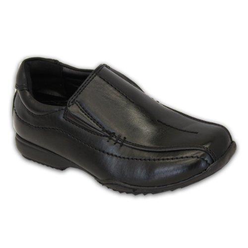 Niño Escuela Zapatos Negros Los Niños Pequeños Mocasines De Vestir Inteligentes Boda Casual Nuevo CLIPPERB - Negro, UK 5 / EU 38 Youth: Amazon.es: Zapatos y ...