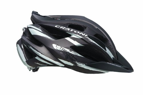Cratoni C-Tracer Bicycle Helmet, Black/Anthracite, Medium/Large Review