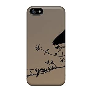 New Design Shatterproof VmjOjxx7577DPgbA Case For Iphone 5/5s (bird Dusk Silhouette)